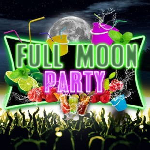 Full Moon 'bucket Party' : Gratuit